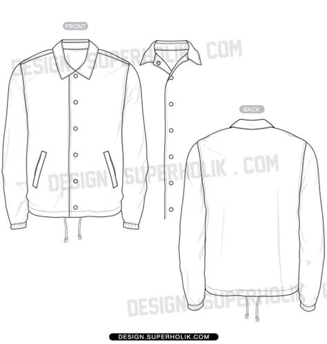 design jacket template fashion design templates vector illustrations and clip