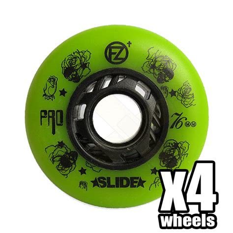 Freezy Green freezy slide pro green 72mm 90a aggressive store
