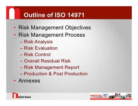 14971 risk management plan template iso 14971 risk management pdf