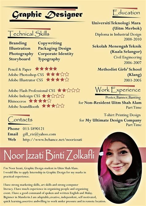 Resume Graphic Designer Malaysia Resume Graphic Designer Malaysia Buy Original Essay Attractionsxpress Attractions