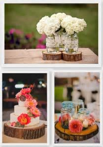 Wood Inspired Wedding Decor   Floral Design   Wedding