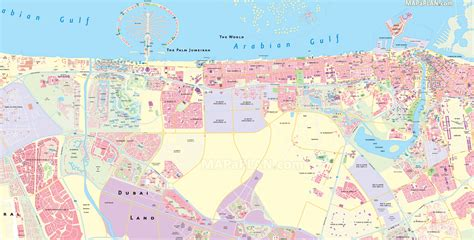 dubai in map the best dubai map diet list 2016