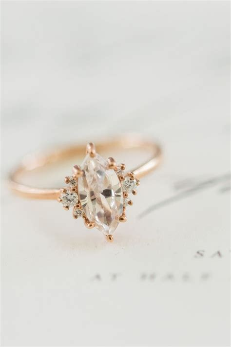 Engagement Gold Ring Pic by Vintage Gold Engagement Rings Www Imgkid The Image