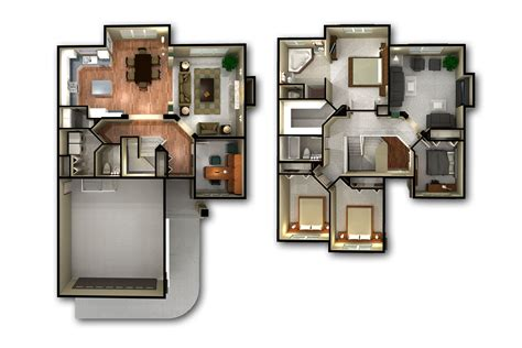 2 floor plan 3d 2 floor plans imgkid com the image kid