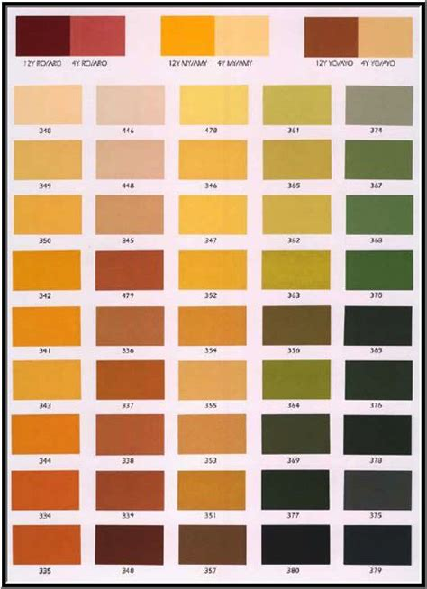Paint Schemes For House by Stucco Colors Chart Color Charts Palettes Pinterest