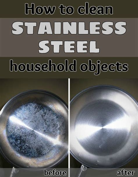 how to polish stainless steel how to clean stainless steel household objects