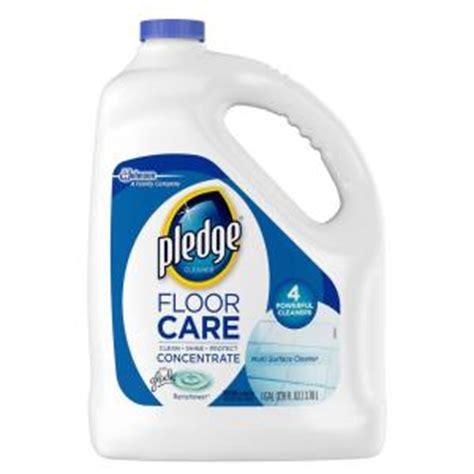 pledge floor care pledge 128 oz multi surface floor cleaner 690990 the home depot