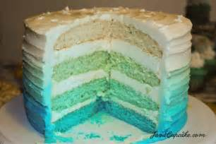 8 inspiring ombr 233 cakes every color of the rainbow