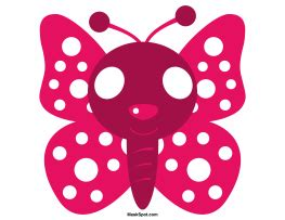 printable butterfly mask butterfly mask templates including a coloring page version