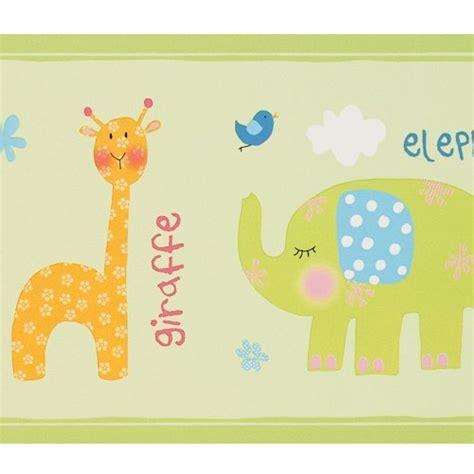 bordure kinderzimmer safari bord 252 re babyzimmer safari in gr 252 n bei oli niki bestellen