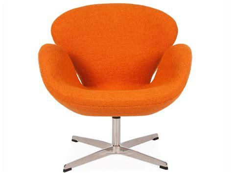 arne jacobsen sedie sedia swan arne jacobsen arancione