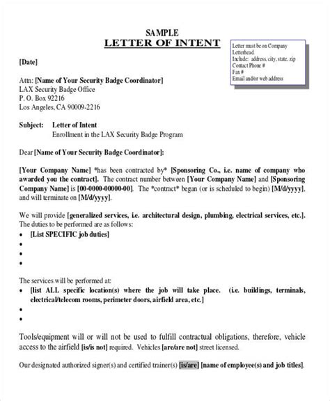 business letter of intent sle model business letter email shirley 28 images 5 formal
