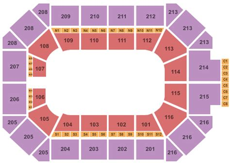 allstate arena floor plan chicago wolves tickets 2017 cheap nhl hockey chicago