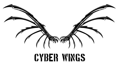 cyber tattoo designs cyber wings by jesterdae on deviantart