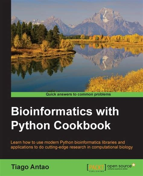 Bioinformatics With Python Cookbook Tiago Antao