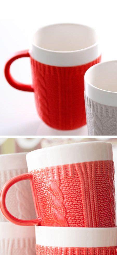 knitting mug cozy knit mug product design inspiration