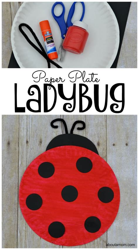 How To Make A Ladybug Out Of Paper - 25 unique ladybug crafts ideas on bug crafts