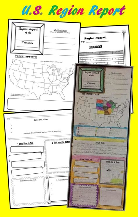 Rubric Template For Geography Reports The World S Catalog Of Ideas
