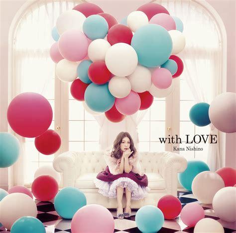 love themes e5 kana nishino 西野カナ with love ジャケット cover tracklist hot