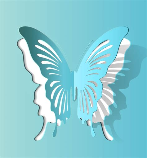 Butterfly Paper Cut Out Template best photos of 3d butterfly cut out template 3d paper
