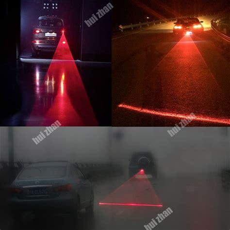 Car Universal Aluminium Rear Laser Fog Light Taillight Model Bola car universal alarm laser fog light rear anti collision taillight warning l ebay