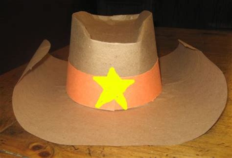 How To Make A Cowboy Hat Out Of Paper - paper hat tutorial holidays occasions
