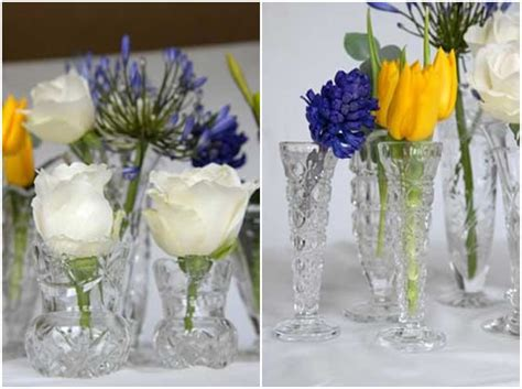 Small Glass Vases Wedding by Glass The Wedding Company