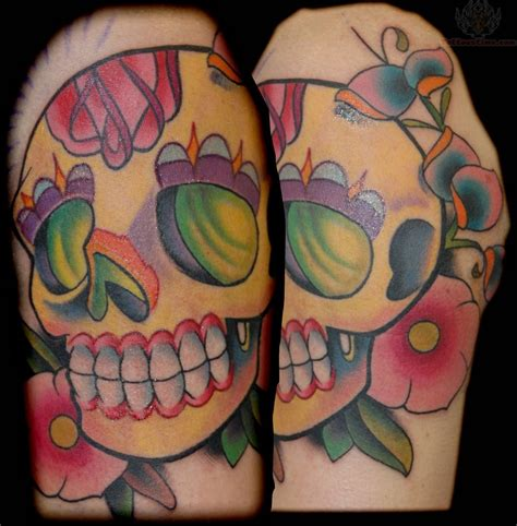 sugar skull tattoos designs sugar skull images designs