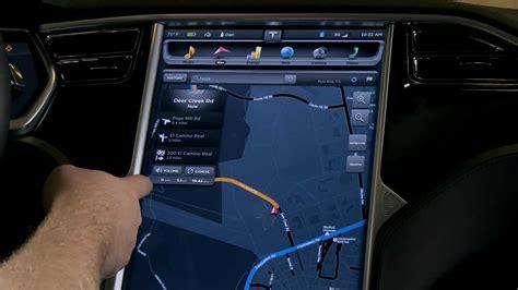 tesla model 3 navigation tesla model s navigation 3d