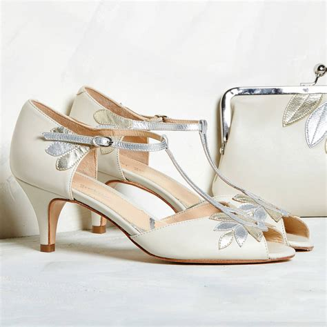 Bridal Shoes by Isla Ivory Leather Wedding Shoes By