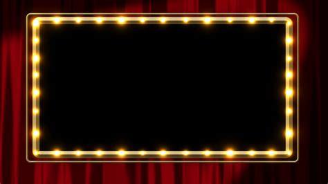 frame design lighting light frame overlay motion background videoblocks