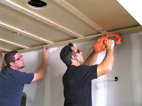 How To Hang Tongue And Groove Ceiling by How To Install A Tongue And Groove Plank Ceiling How Tos