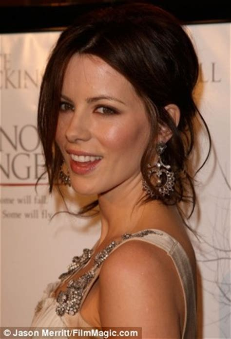 Kate Beckinsale Luckiest by Kate Beckinsale Losing My Made Me Anorexic Daily