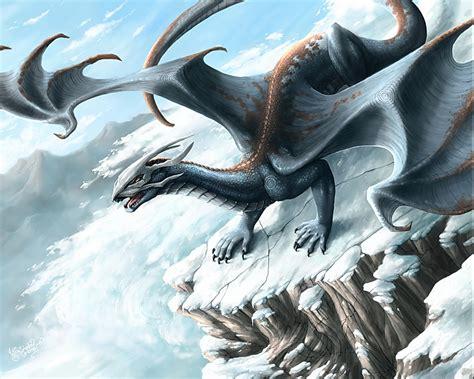 dragon s snow skull dragon dragons art pinterest
