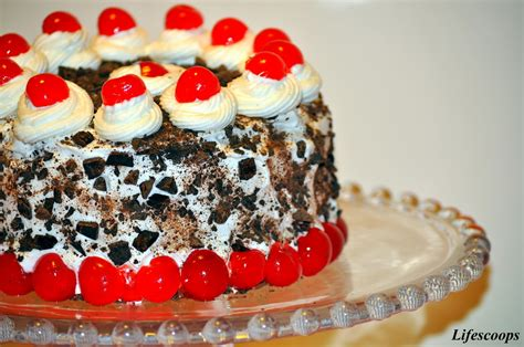 cara membuat whipped cream black forest life scoops black forest cake chocolate genoise cake