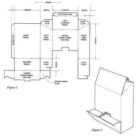 cigarette box template dispenser box template corrugated and folding