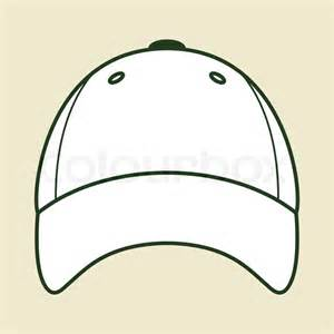 baseball cap template vector colourbox