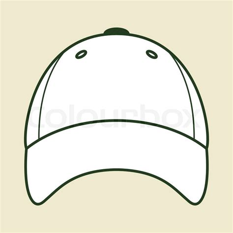 baseball cap template best photos of baseball hat outline baseball cap outline