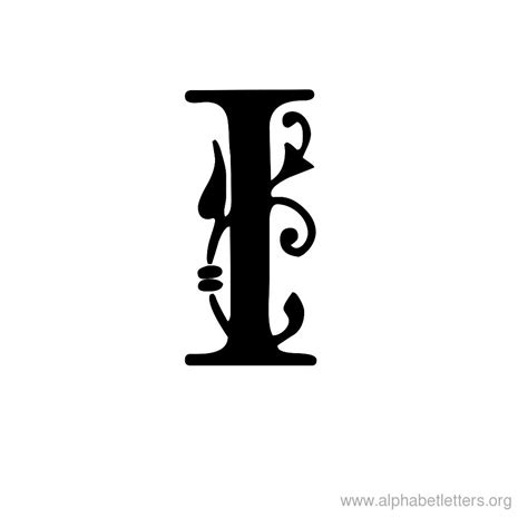 Letters In Printable Ornamental Letter Alphabets Alphabet Letters Org