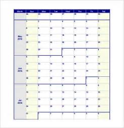 Blank Monthly Work Schedule Template by Blank Work Schedule Template 6 Free Word Excel