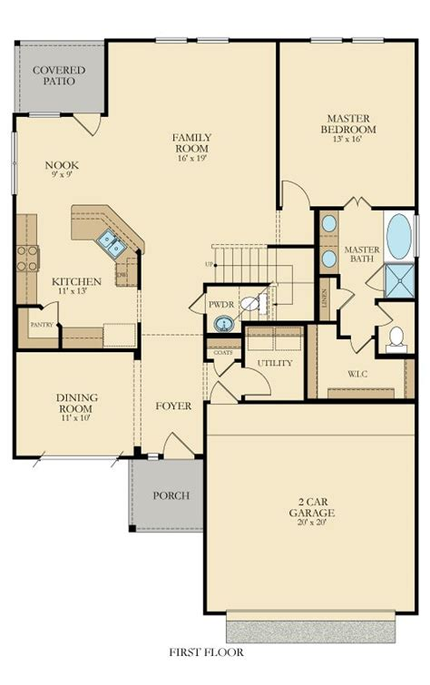 First Texas Homes Floor Plans Terrazzo 3752 New Home Plan In Cibolo Valley Ranch By Lennar