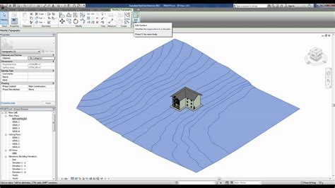 tutorial revit terreno revit 2012 tutorial 23 criando terrenos youtube