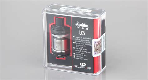 Ud Goblin Mini V3 Rta 22mm Authentic 21 40 authentic youde ud goblin mini v3 rta rebuildable