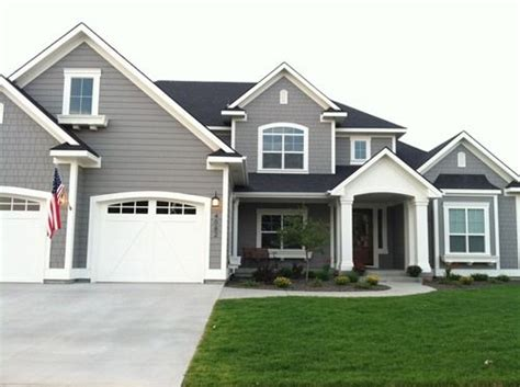 gray exterior paint colors darker grey roof with light grey fascia my house colour
