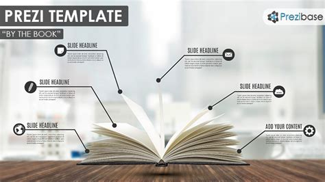 By The Book Prezi Template Prezibase How To A Prezi Template