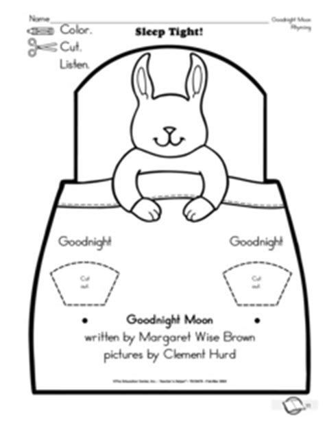 Goodnight Moon Worksheet by Results For Goodnight Moon Kindergarten Guest The