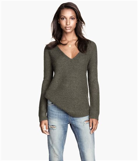 H M Rib Knit Sweater 29 95
