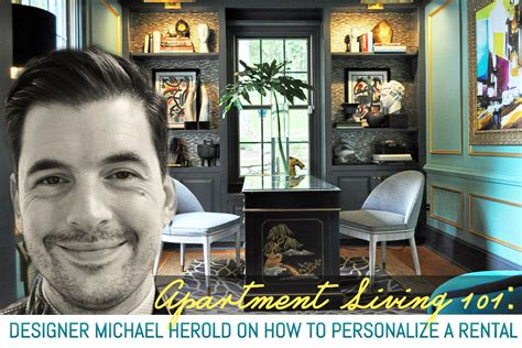 professional interior designer tips from a professional interior designer michael herold on how to personalize a rental 6sqft