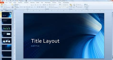 powerpoint presentation templates free 2013 free tunnel powerpoint background and technology template