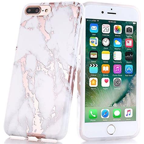 Tuto Design Bumper Softcase Iphone 7 Plus iphone 7 plus shiny gold white marble design